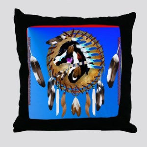 Spiritual Horse Throw Pillow