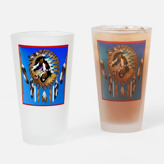 Spiritual Horse Drinking Glass