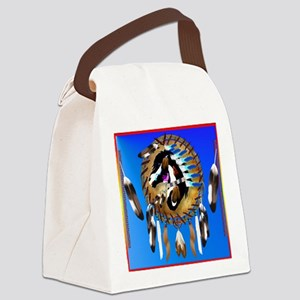 Spiritual Horse Canvas Lunch Bag