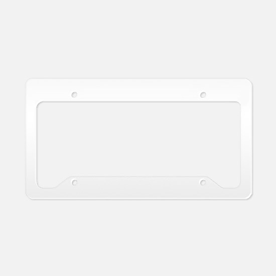 Choose your weapons! License Plate Holder