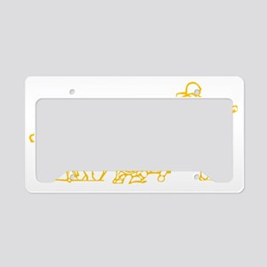 Army band License Plate Holder