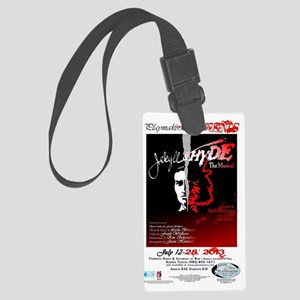 Jekyll  Hyde, The Musical Large Luggage Tag
