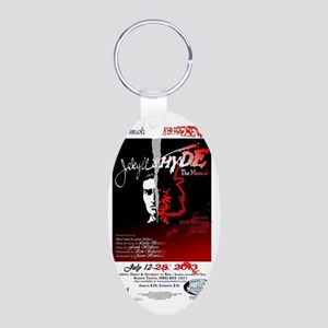 Jekyll  Hyde, The Musical Aluminum Oval Keychain