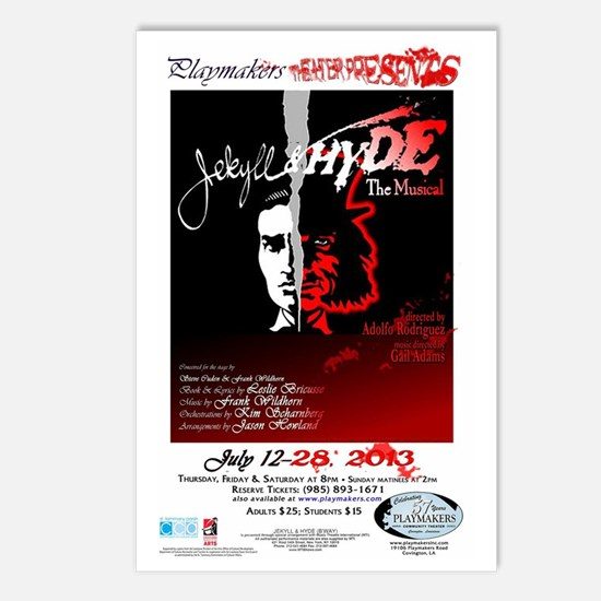 Jekyll  Hyde, The Musical Postcards (Package of 8)