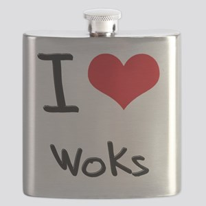 I love Woks Flask
