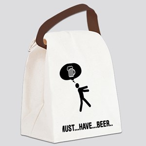 Beer-A Canvas Lunch Bag