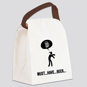 Beer-C Canvas Lunch Bag