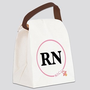 NICU RN Canvas Lunch Bag