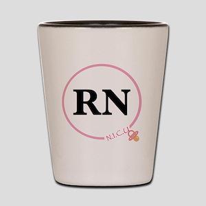 NICU RN Shot Glass