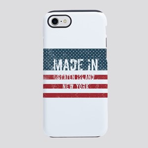 Made in Staten Island, New Yor iPhone 7 Tough Case