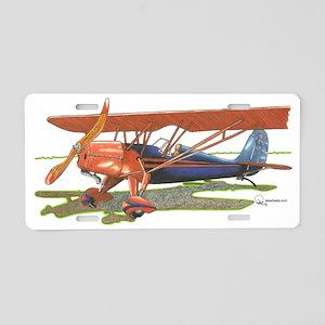 Fairchild 21 Aluminum License Plate