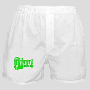 hawaiian ukulele uke palm tree design Boxer Shorts