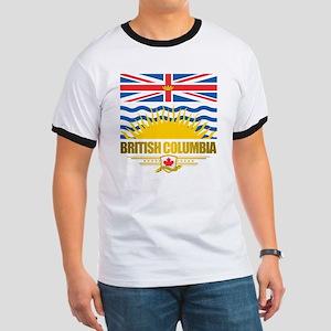 British Columbia Flag Ringer T
