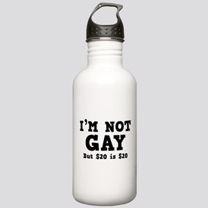 I'm Not Gay Stainless Water Bottle 1.0L