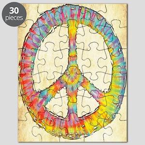 tiedye-peace-713-LG Puzzle
