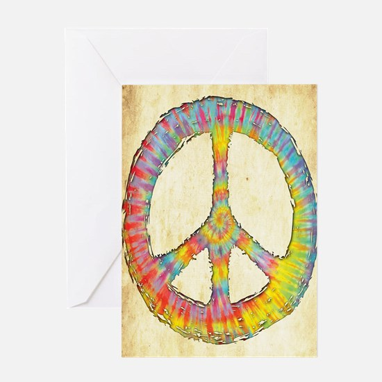tiedye-peace-713-LG Greeting Card