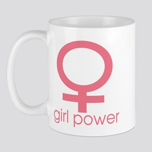 Girl Power Light Pink Mug