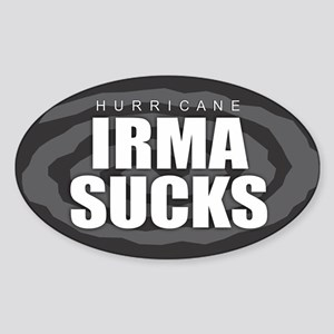 Hurricane Irma Sucks Sticker
