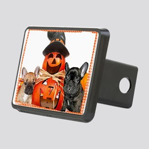 Halloween French Bulldogs Rectangular Hitch Cover