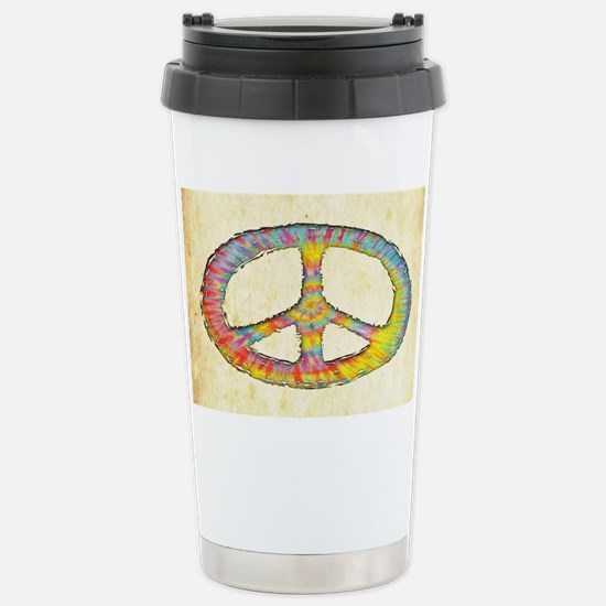 tiedye-peace-713-OV Stainless Steel Travel Mug