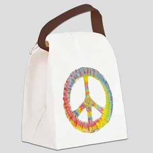 tiedye-peace-713-DKT Canvas Lunch Bag