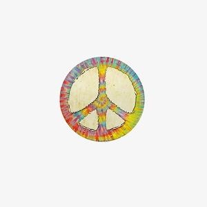 tiedye-peace-713-PLLO Mini Button