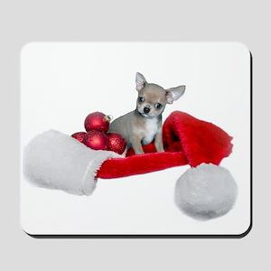 Christmas Chihuahua Dog Mousepad