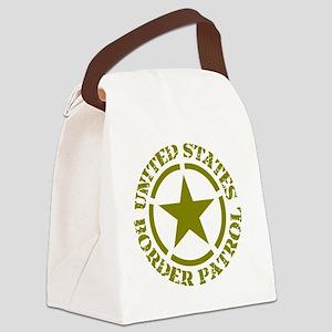 border-patrol Canvas Lunch Bag