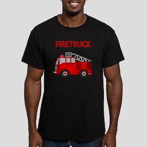 FIRETRUCK Men's Fitted T-Shirt (dark)