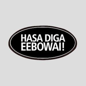 48 HR SALE! Hasa Diga Eebowai Patch