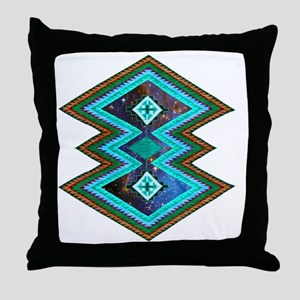 Hipster Navajo Geometric Native India Throw Pillow