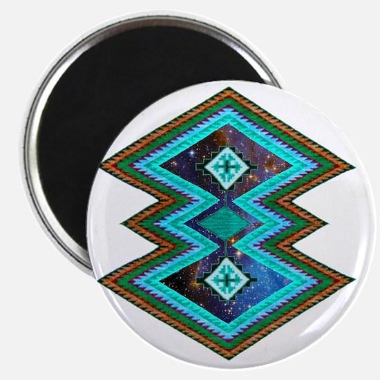 Hipster Navajo Geometric Native Indian Gala Magnet