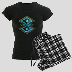 Hipster Navajo Geometric Nat Women's Dark Pajamas