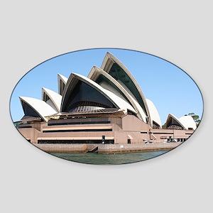 Sydney Opera House, New South Wales Sticker (Oval)