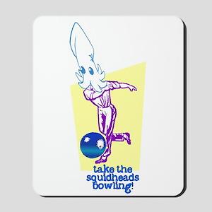 Take the Squidheads Bowling Mousepad