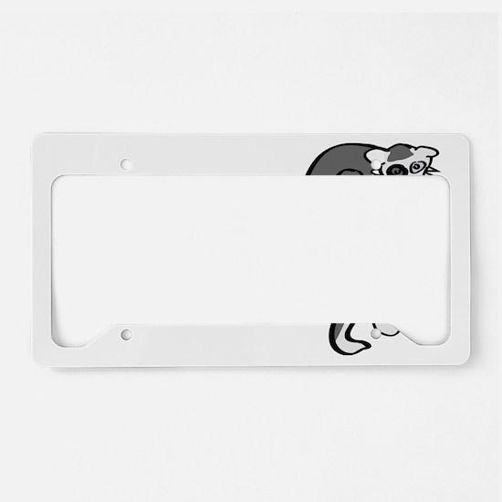 Ach Du Lemur! License Plate Holder