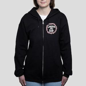 Gamma Phi Beta Wreath Women's Zip Hoodie