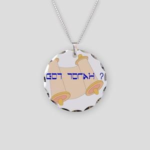 Got Torah ? Necklace Circle Charm