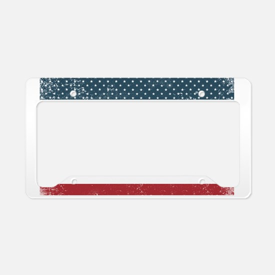 Funny Made in california License Plate Holder