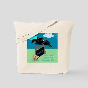 Fun Grand Prix Horse Jumper Tote Bag