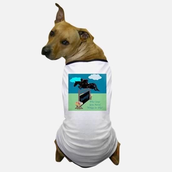 Fun Grand Prix Horse Jumper Dog T-Shirt