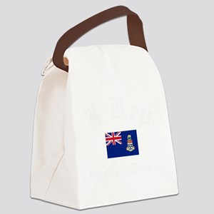 I Rep George town Canvas Lunch Bag
