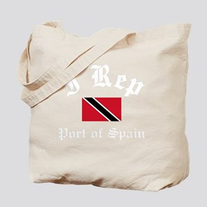 I Rep Port Of Spain Tote Bag