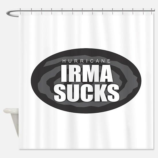 Hurricane Irma Sucks Shower Curtain
