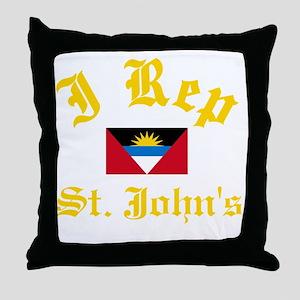 I Rep St Johns Throw Pillow