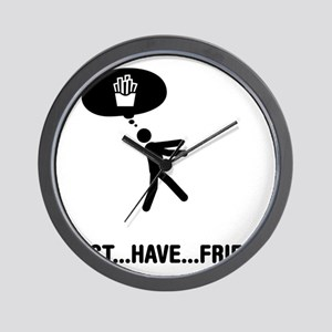 French-Fries-A Wall Clock