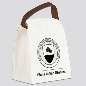 Siena Italian Studies Large Logo Canvas Lunch Bag