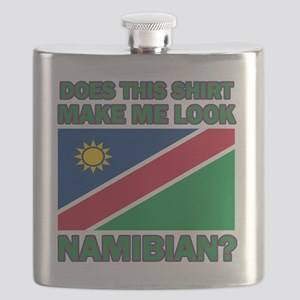 Does This Shirt Make Me Look Namibian? Flask