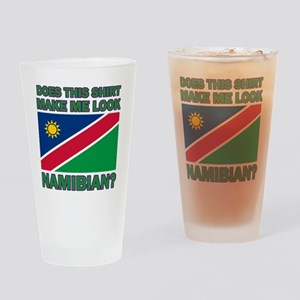 Does This Shirt Make Me Look Namibi Drinking Glass