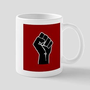 Red Solidarity Salute Mugs